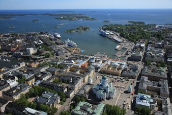 Helsinki South Harbour from above